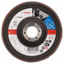 Bosch X571 fíber csiszolótárcsa, Best for Metal D= 125 mm; G= 120, hajlított