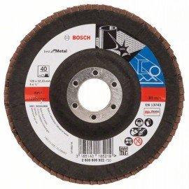 Bosch X571 fíber csiszolótárcsa, Best for Metal D= 125 mm; G= 40, hajlított