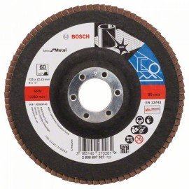 Bosch X571 fíber csiszolótárcsa, Best for Metal D= 125 mm; G= 60, egyenes