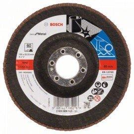 Bosch X571 fíber csiszolótárcsa, Best for Metal D= 125 mm; G= 60, hajlított