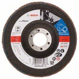 Bosch X571 fíber csiszolótárcsa, Best for Metal D= 125 mm; G= 80, hajlított