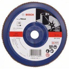Bosch X571 fíber csiszolótárcsa, Best for Metal D= 180 mm; G= 40, egyenes