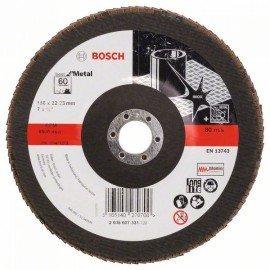 Bosch X571 fíber csiszolótárcsa, Best for Metal D= 180 mm; G= 60, egyenes