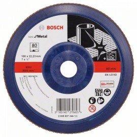 Bosch X571 fíber csiszolótárcsa, Best for Metal D= 180 mm; G= 80, egyenes