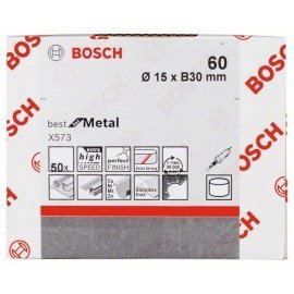 Bosch X573 csiszolóhüvely 15 mm, 30 mm, 60