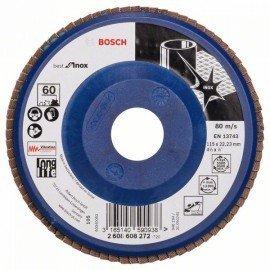 Bosch X581 fíber csiszolótárcsa, Best for Inox 115 mm, 22,23 mm, 60