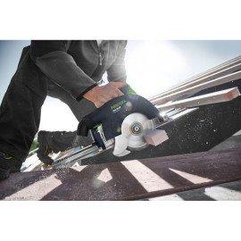 Festool Akkus kézi billenőbúrás körfűrész HKC 55 Li 5,2 EB-Plus-SCA