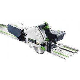 Festool Akkus merülőfűrész TSC 55 Li 5,2 REB-Set/XL-FS