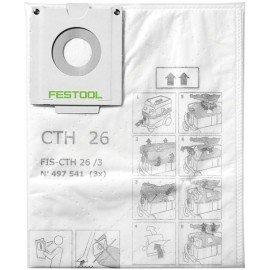 Festool Biztonsági szűrőzsák FIS-CTH 26/3