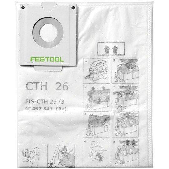 Festool Biztonsági szűrőzsák FIS-CTH 48/3