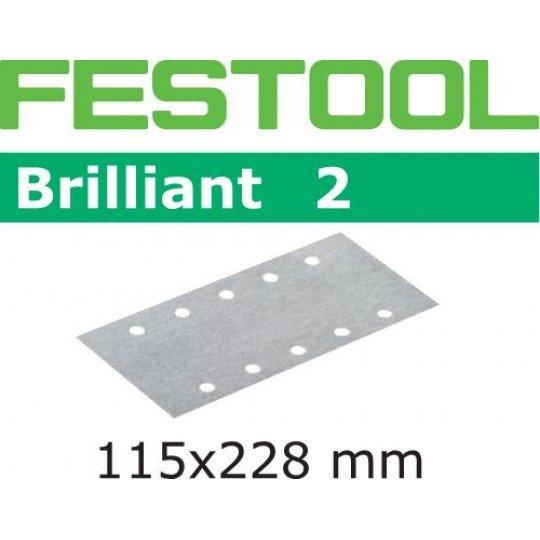 Festool Csiszolócsíkok STF 115x228 P180 BR2/10