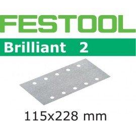 Festool Csiszolócsíkok STF 115x228 P400 BR2/100