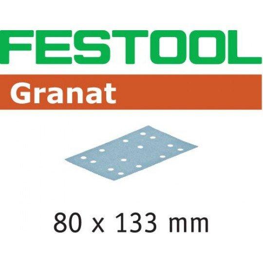 Festool Csiszolócsíkok STF 80x133 P80 GR/10