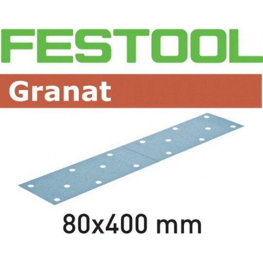 Festool Csiszolócsíkok STF 80X400 P100 GR/50