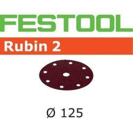 Festool Csiszolópapír STF D125/8 P100 RU2/50