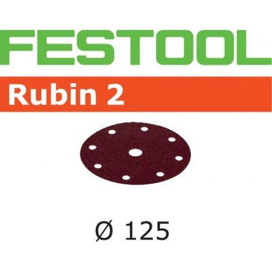 Festool Csiszolópapír STF D125/8 P120 RU2/10