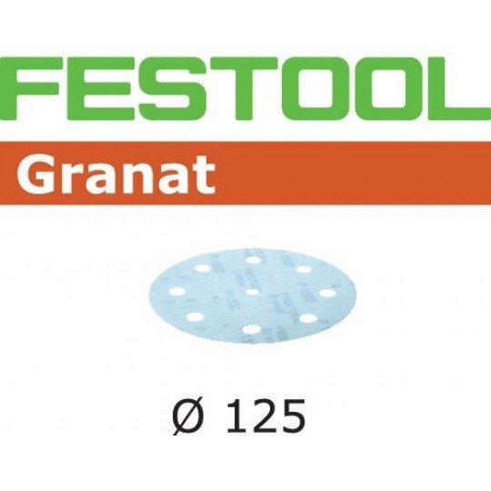 Festool Csiszolópapír STF D125/8 P1500 GR/50