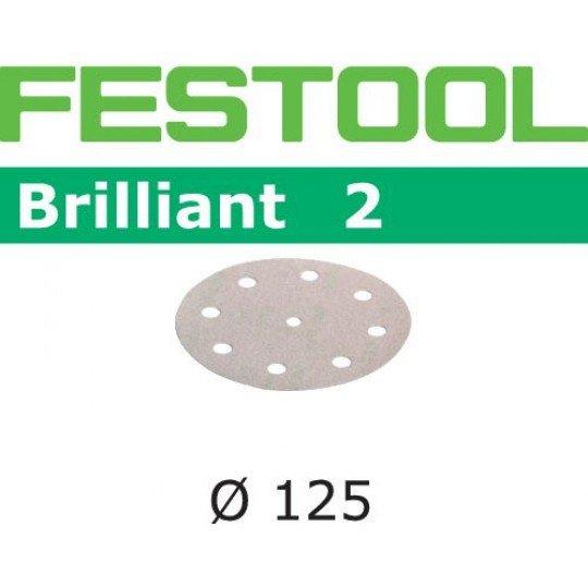 Festool Csiszolópapír STF D125/8 P180 BR2/100
