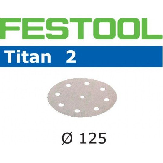 Festool Csiszolópapír STF D125/8 P500 TI2/100