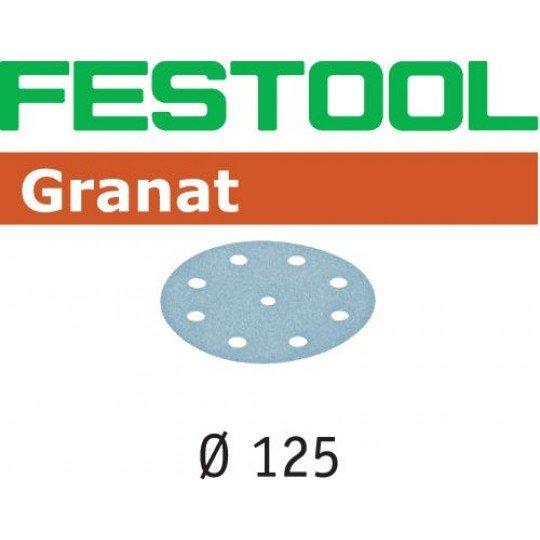 Festool Csiszolópapír STF D125/8 P80 GR/50
