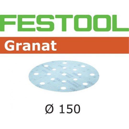 Festool Csiszolópapír STF D150/16 P1500 GR/50