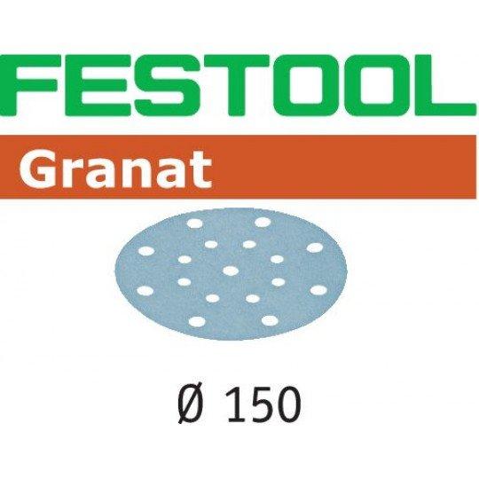 Festool Csiszolópapír STF D150/16 P180 GR/100