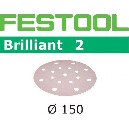 Festool Csiszolópapír STF D150/16 P220 BR2/100