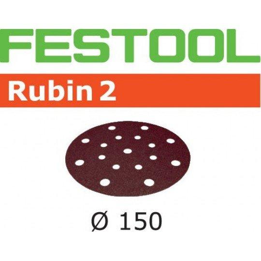 Festool Csiszolópapír STF D150/16 P80 RU2/50