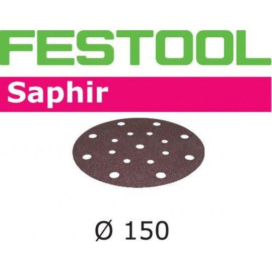 Festool Csiszolópapír STF-D150/16 P80 SA/25