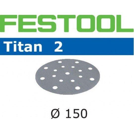 Festool Csiszolópapír STF D150/16 P80 TI2/50