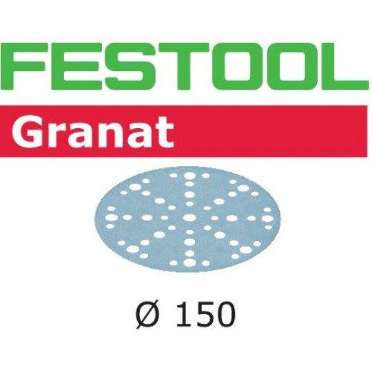 Festool Csiszolópapír STF D150/48 P100 GR/100