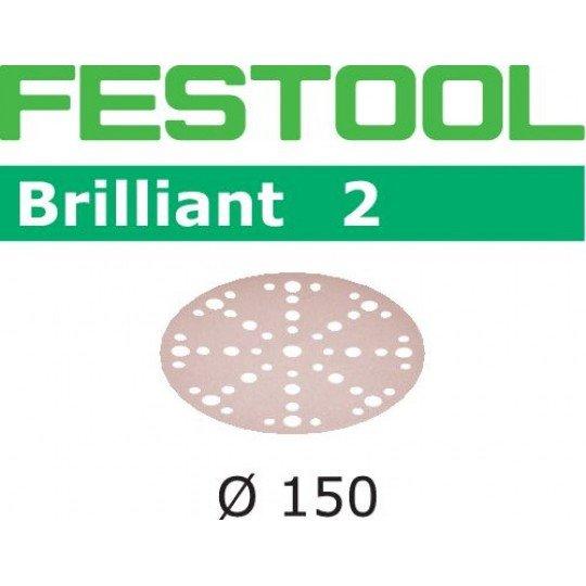 Festool Csiszolópapír STF D150/48 P180 BR2/10