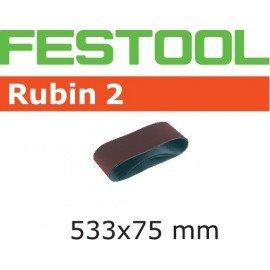 Festool Csiszolószalag L533X 75-P60 RU2/10