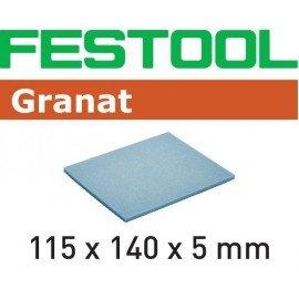 Festool Csiszolószivacs 115x140x5 EF 500 GR/20