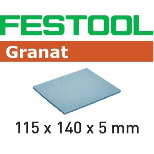 Festool Csiszolószivacs 115x140x5 MF 1500 GR/20