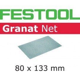 Festool Hálós csiszolóanyagok STF 80x133 P80 GR NET/50
