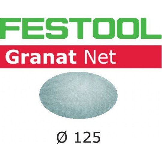 Festool Hálós csiszolóanyagok STF D125 P80 GR NET/50