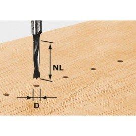 Festool HW csapfúró, szár 8 mm HW S8 D10/30 Z