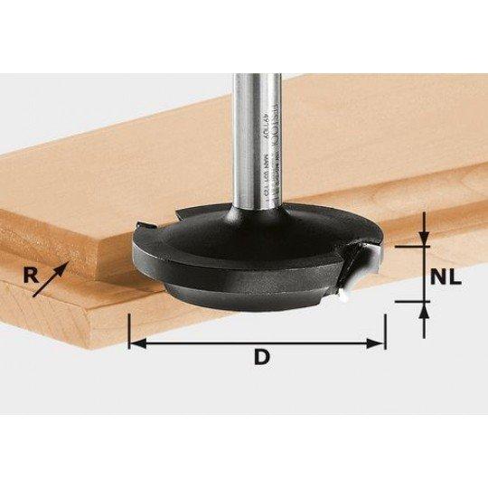 Festool HW élletörés-maró, szár 8 mm HW D42,7/13/R6