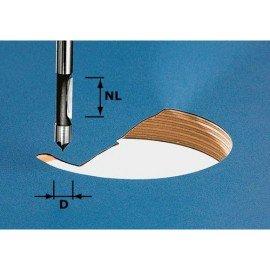 Festool HW fúrómaró, szár 8 mm HW S8 D8/19