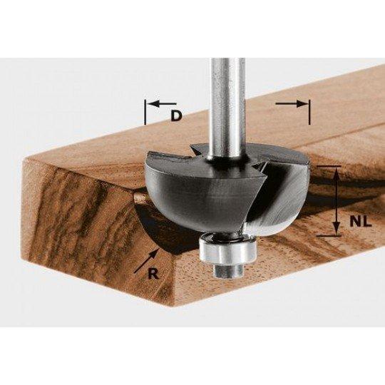 Festool HW holkermaró 8 mm-es szárral HW S8 D28,7/R8 KL