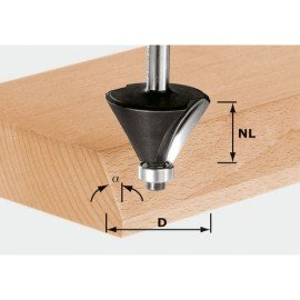 Festool HW letörésmaró 8 mm-es szárral HW S8 D36/45°