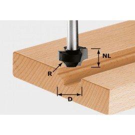 Festool HW negyedrúd-maró 8 mm-es szárral HW S8 D23/R6