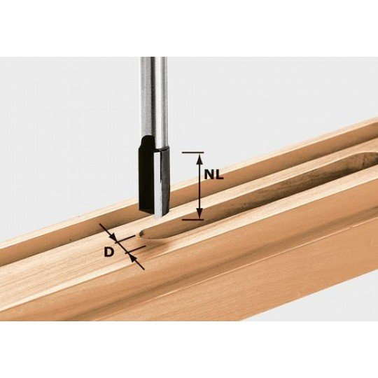 Festool HW nútmaró, 12 mm-es szárral HW S12 D14/50