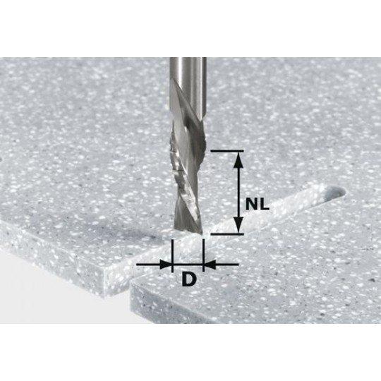 Festool HW szerelt front maró, szár 12 mm-es HW Spi D12/42 LD ss S12