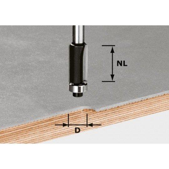 Festool HW szintbemaró 8 mm-es szárral HW S8 D12,7/NL25