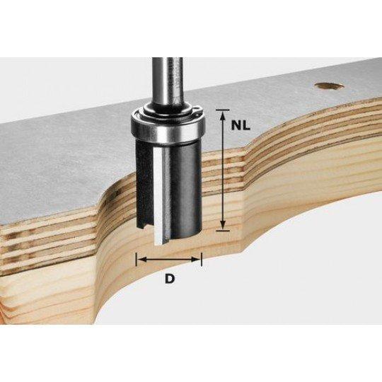 Festool HW szintbemaró 8 mm-es szárral HW S8 D19/NL25