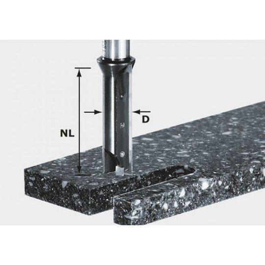Festool HW váltólapkás-horonymaró, szár 12 mm HW S12 D14/45 WM
