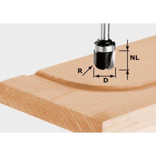 Festool HW vízelvezető-maró 8 mm-es szárral HW S8 R6,4 KL