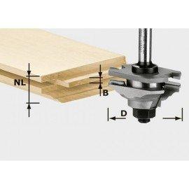 Festool Profilmaró HW 8 mm-es szár HW S8 D46 x D12-FD